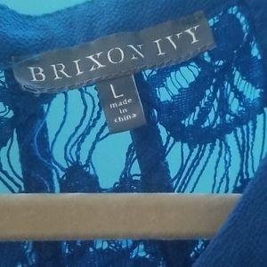 Brixon Ivy Tops - Royal blue formal tank